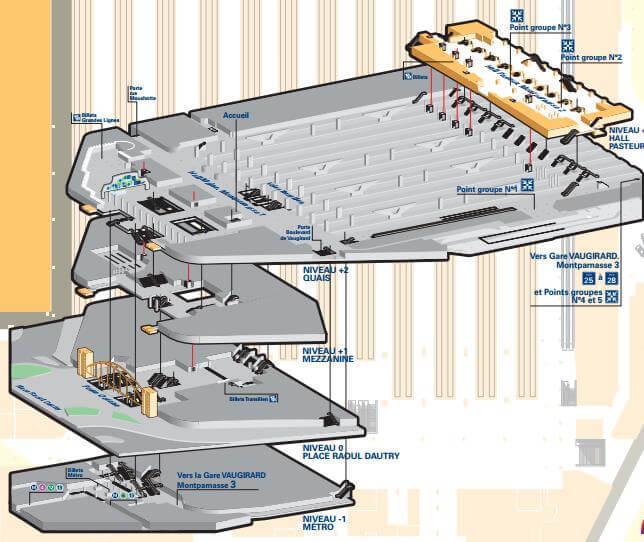plan-acces-interieur-gare-paris-montparnasse