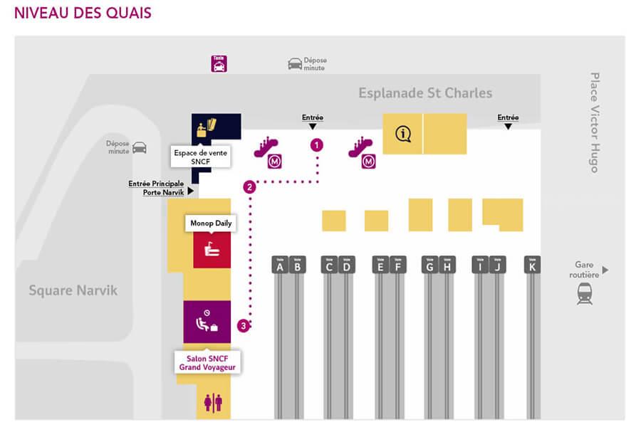 plan-acces-interieur-gare-marseille-saint-charles
