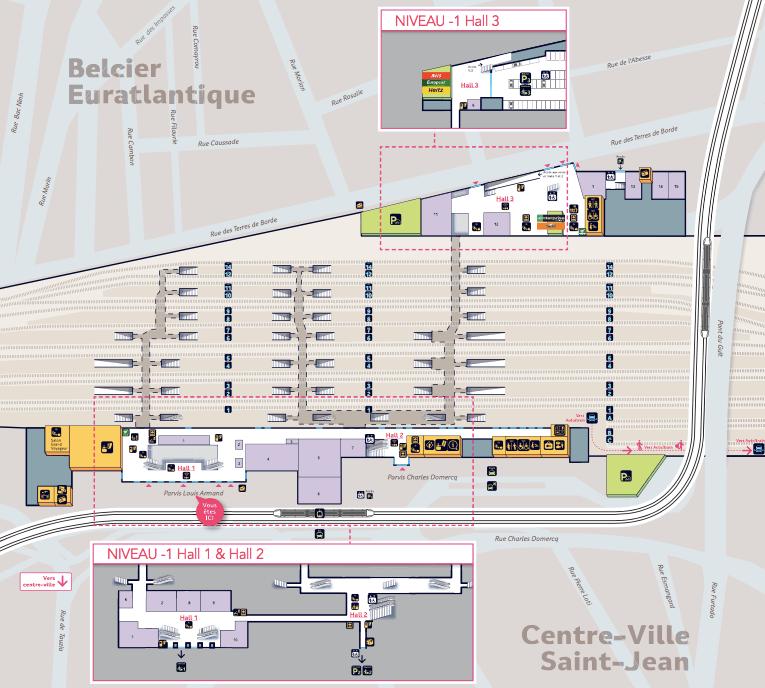 plan-acces-interieur-et-exterieur-gare-bordeaux-saint-jean