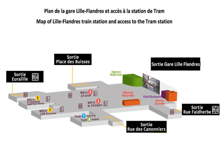 plan-acces-interieur-et-exterieur-gare-lille-flandres