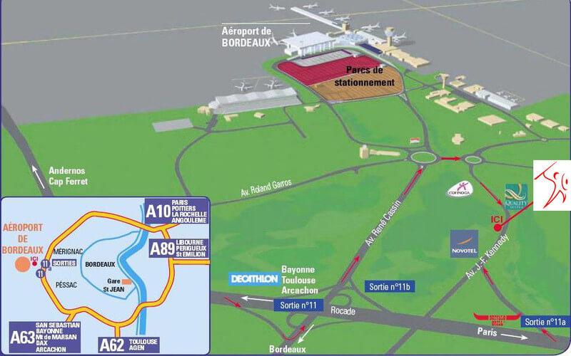plan-acces-exterieur-aeroport-bordeaux-merignac