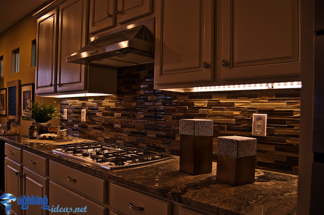 de7kah rope lighting for kitchen cabinets