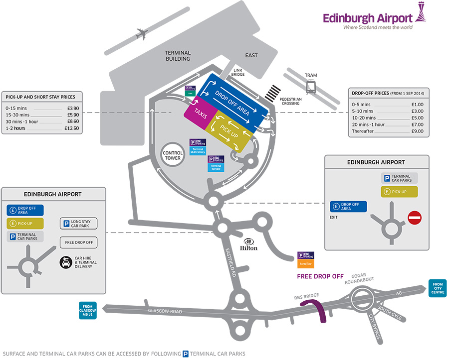 Airport Maps Edinburgh Airport