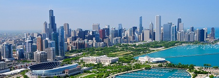 Chicago, USA with United Airlines from May 14