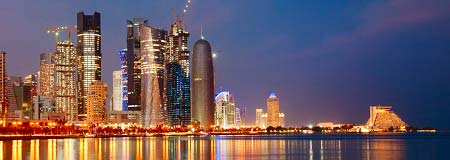 Doha, Qatar with Qatar Airways from May 14