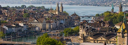 Zurich with Edelweiss from May 14