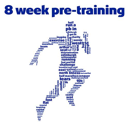 8 week pre training