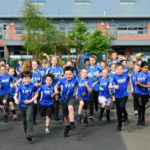 Duloch pupils turn out for junior runs at Edinburgh Marathon festival