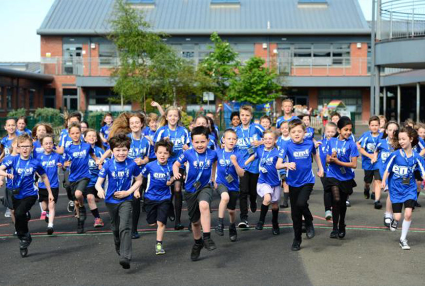 Edinburgh Marathon Festival launches Super Active Schools Campaign
