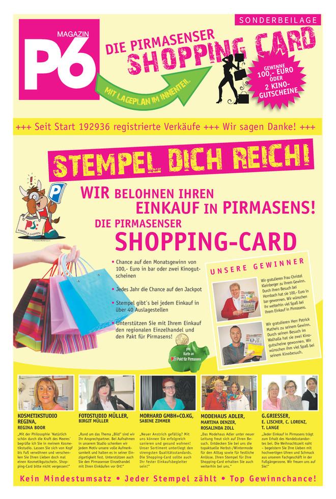 November 2016 - Pirmasenser Shopping Card