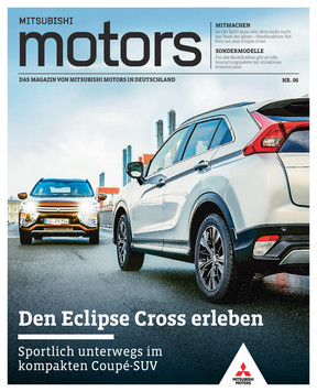 Mitsubishi Motors Kundenmagazin Nr. 6