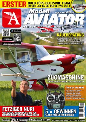 Modell AVIATOR Ausgabe 11/2013