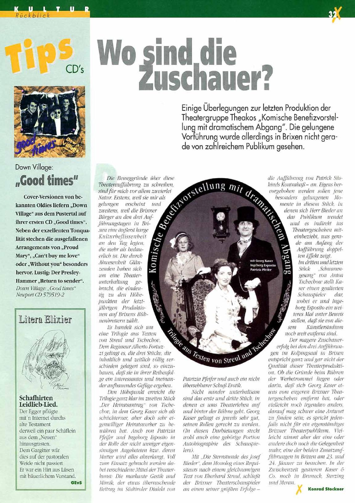 Brixner 072 Januar 1996 |