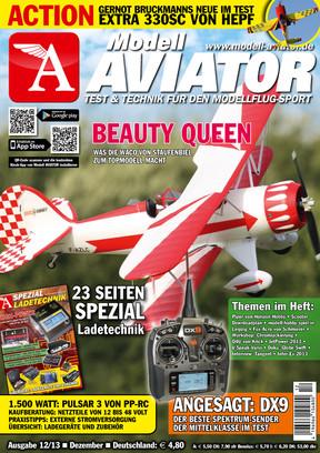 Modell AVIATOR Ausgabe 12/2013