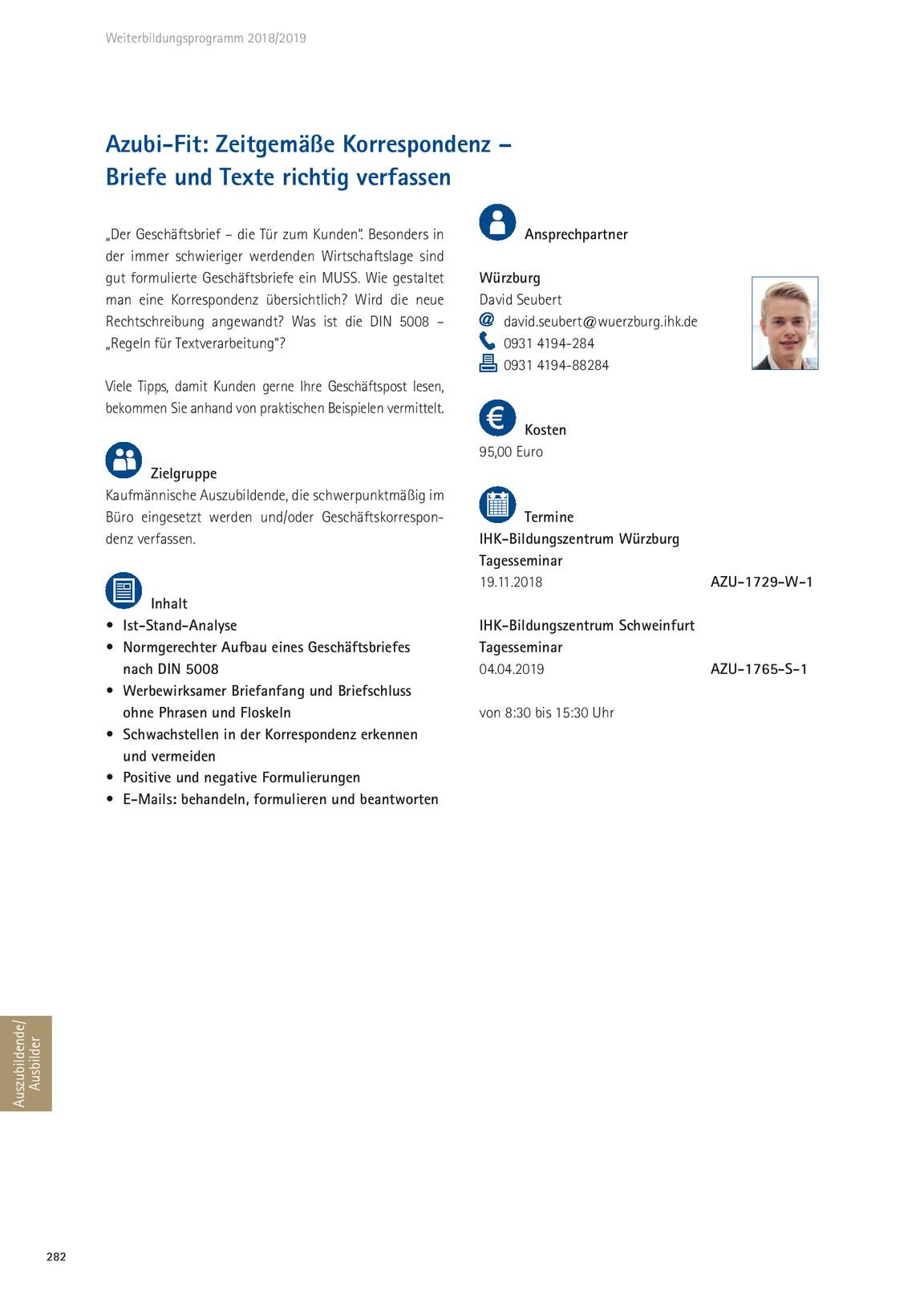 Ihk Weiterbildungsprogramm 2018 2019 B4b Mainfranken Kiosk
