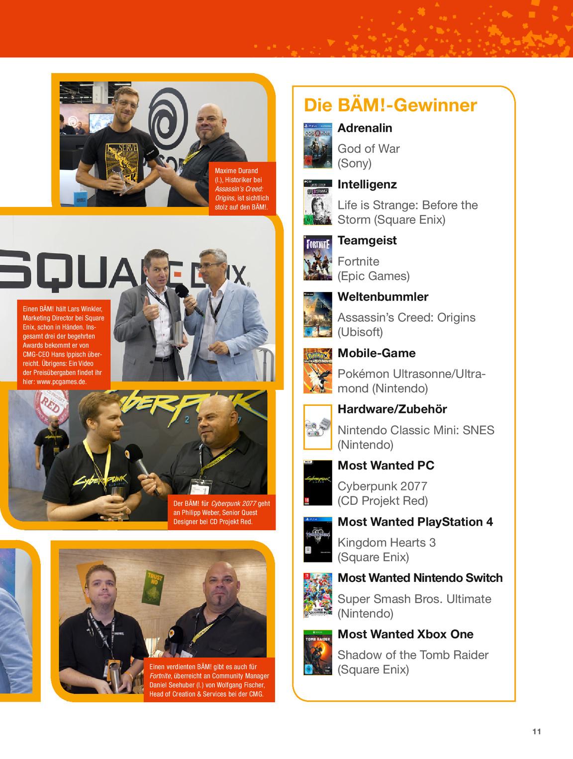 Gamescom Aktuell Samstagsausgabe Ga Pc Games Hardware