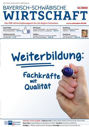 Bayerisch-Schwäbische Wirtschaft 11 | 2013