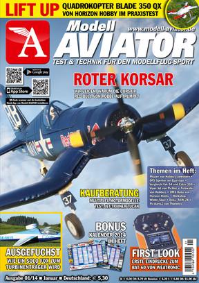 Modell AVIATOR Ausgabe 01/2014