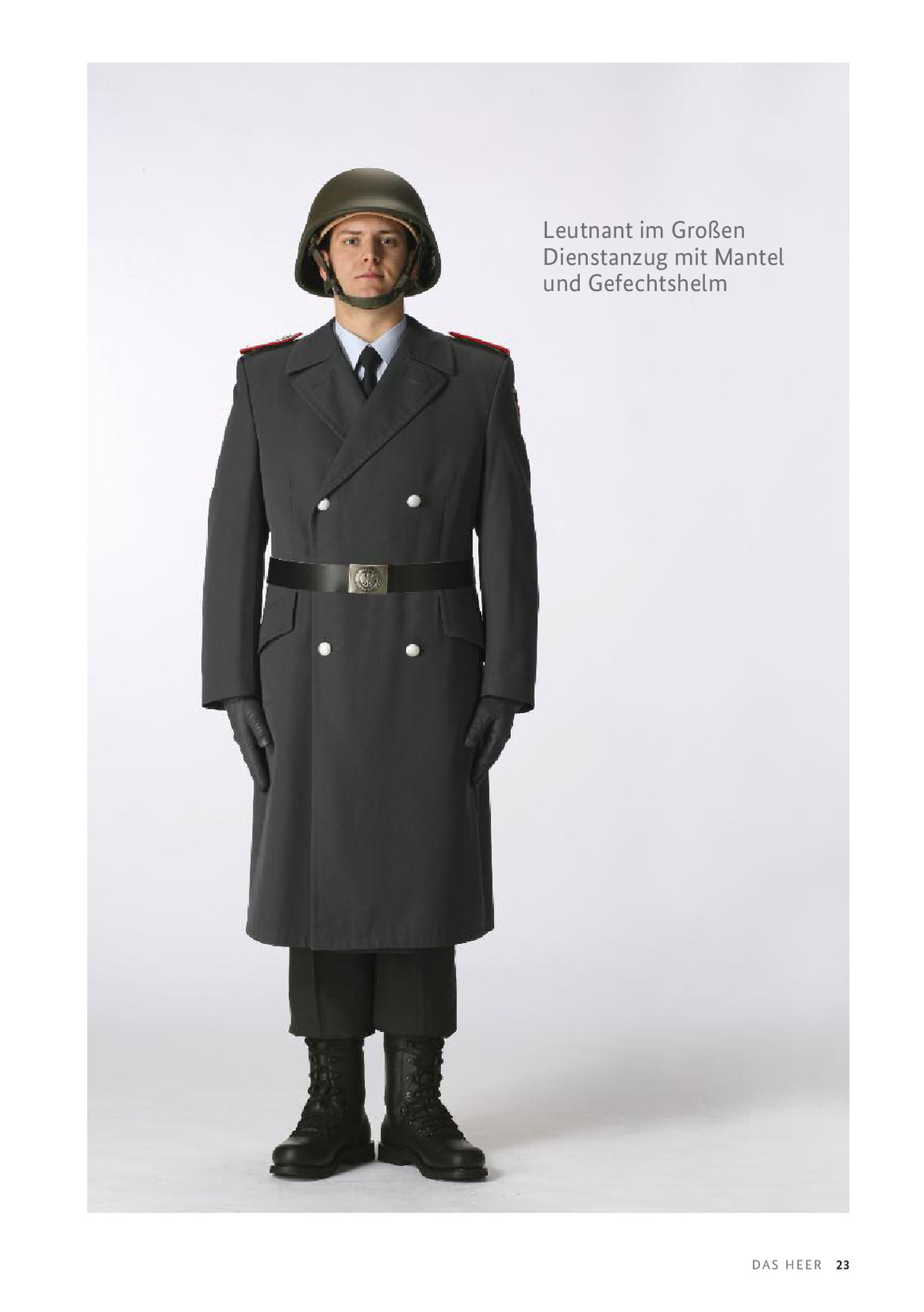 Mantel bundeswehr heer