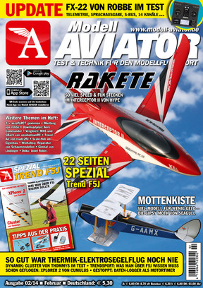 Modell AVIATOR Ausgabe 02/2014