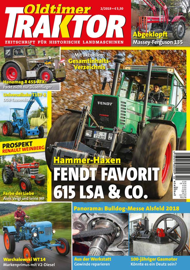 Oldtimer Traktor 2/2019 | OLDTIMER MAGAZINE