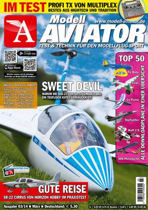Modell AVIATOR Ausgabe 03/2014