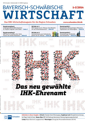 Bayerisch-Schwäbische Wirtschaft 1-2 / 2014