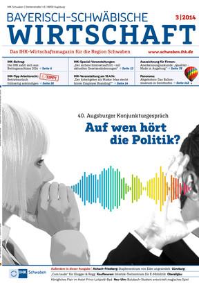 Bayerisch-Schwäbische Wirtschaft 3 / 2014