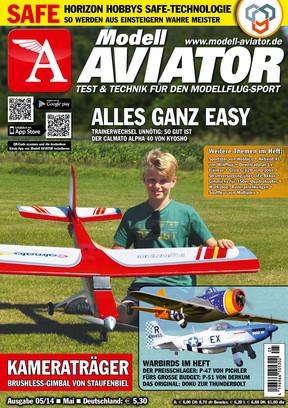 Modell AVIATOR Ausgabe 05/2014