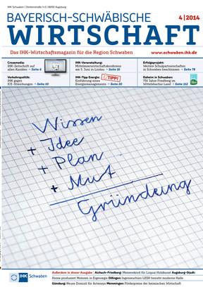 Bayerische-Schwäbische Wirtschaft  4/2014
