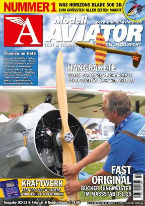Modell AVIATOR Ausgabe 02/2013