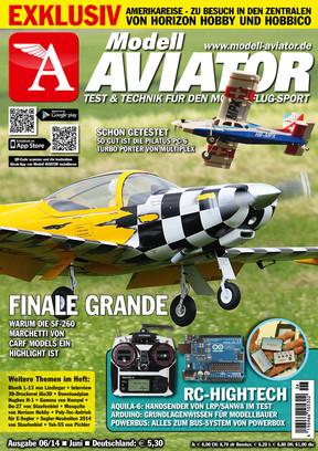 Modell AVIATOR Ausgabe 06/2014
