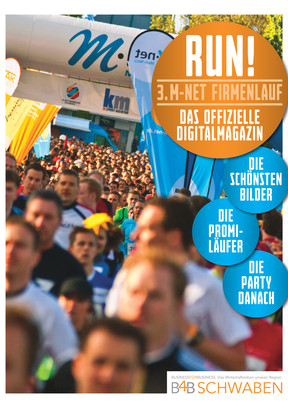RUN! Das Digitalmagazin zum 3. M-net Firmenlauf