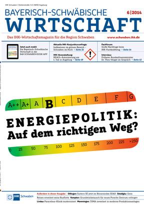 Bayerisch-Schwäbische Wirtschaft 6/2014