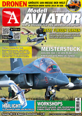 Modell AVIATOR Ausgabe 08/2014