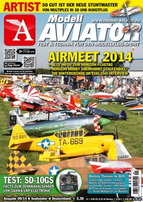 Modell AVIATOR Ausgabe 09/2014