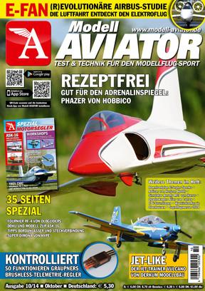 Modell AVIATOR Ausgabe 10/2014