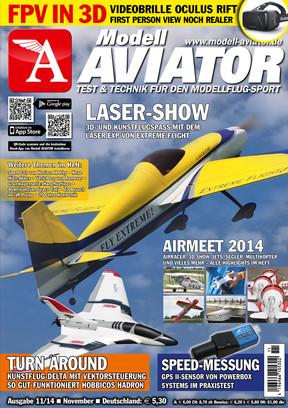 Modell AVIATOR Ausgabe 11/2014
