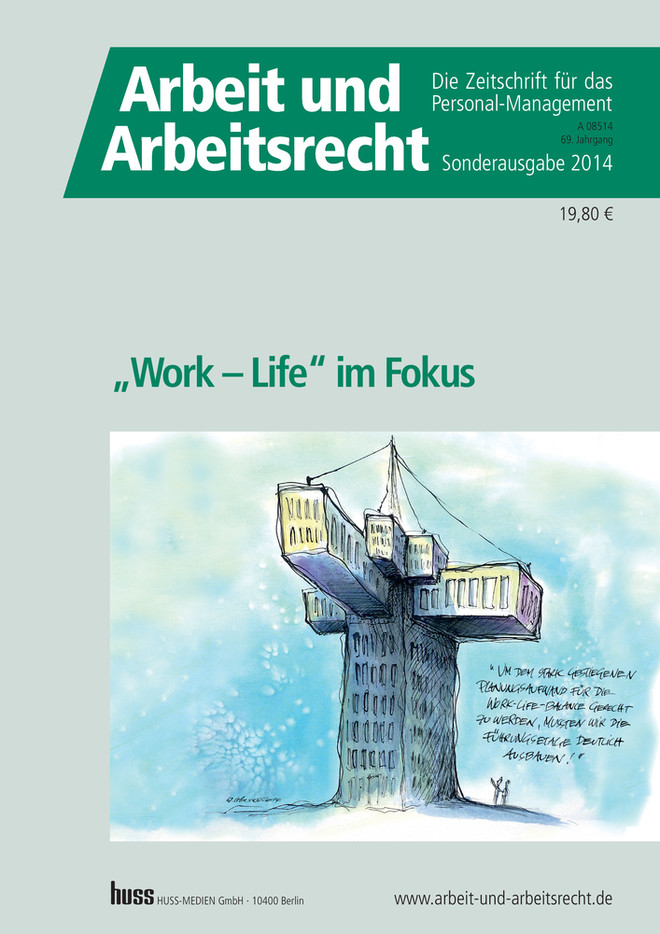 """Work – Life"" im Fokus"