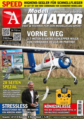 Modell AVIATOR Ausgabe 12/2014