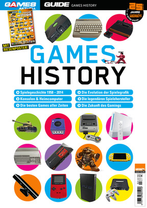 """Games Aktuell Guide """"Games History"""""""
