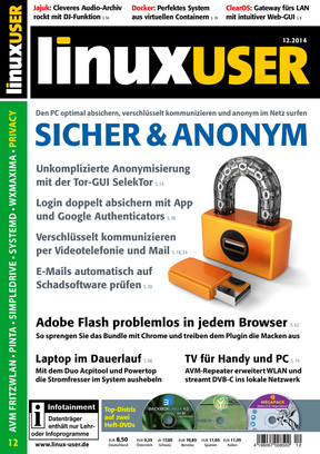 LINUX USER 12/2014