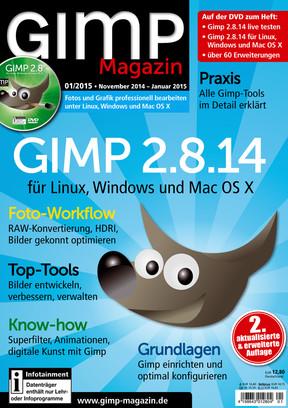 GIMP Magazin 01/2015