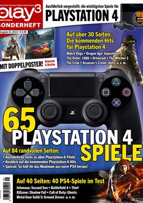 Play3 Sonderheft 01/2014 Playstation 4