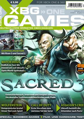 XBG Games 07-08/2014