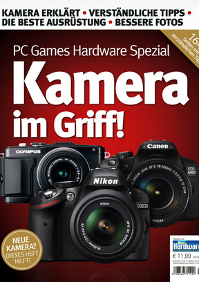 """PC Games Hardware Sonderheft PCGH Spezial """"Kamera im Griff"""""""