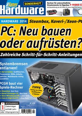 """PC Games Hardware Sonderheft PCGH SH """"PC neu bauen oder aufrüsten"""""""