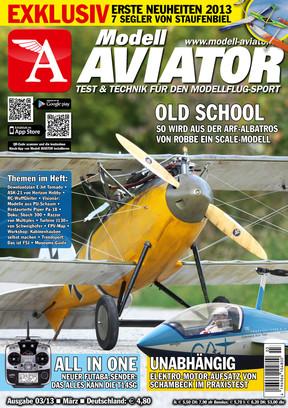 Modell AVIATOR Ausgabe 03/2013