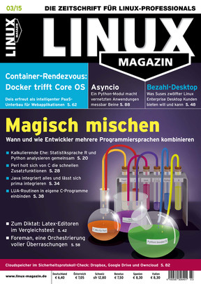 Linux Magazin 03/2015