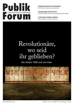 Publik-Forum, 19/2014
